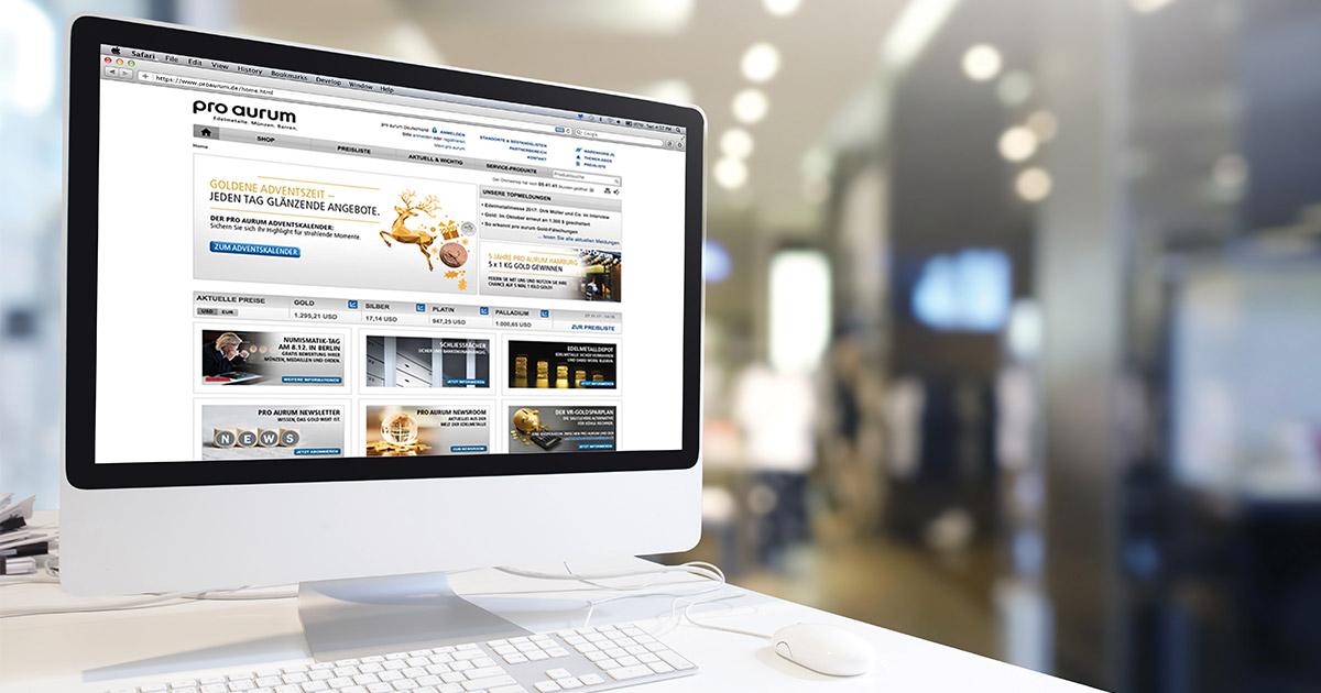 Weihnachtskalender Angebote.How Pro Aurum Took The Gold Business Online World Gold Council
